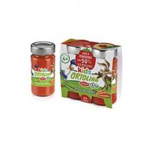 2х100гр. Био сос за деца -  домати, грах и моркови