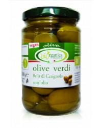 Био зелени маслини цели